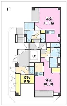 一棟マンション-江東区東陽5丁目 1階 間取図