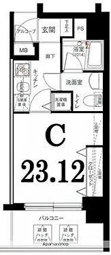 マンション(建物一部)-横浜市西区桜木町4丁目 間取り