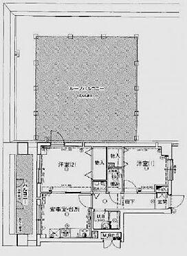 マンション(建物一部)-京都市上京区稲葉町 嬉しいルーフバルコニー付き