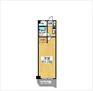 マンション(建物一部)-大阪市都島区都島南通2丁目 間取り