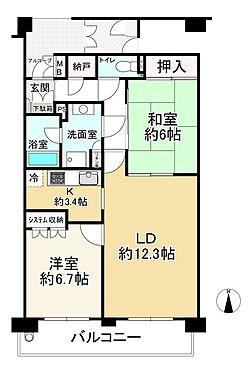 中古マンション-大阪市城東区関目3丁目 間取り
