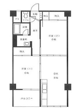 マンション(建物一部)-札幌市豊平区中の島一条7丁目 間取り