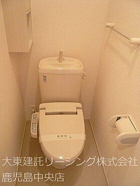 アパート-宮崎市清武町岡2丁目 I1階トイレ