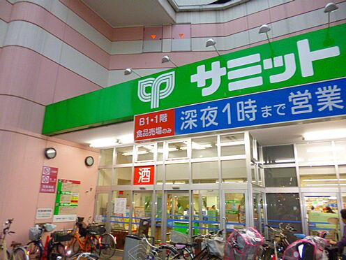 アパート-豊島区南長崎2丁目 【スーパー】サミットストア椎名町店まで478m