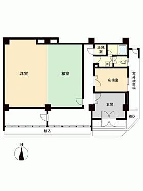中古マンション-名古屋市中区栄1丁目 間取り