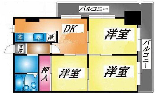 マンション(建物一部)-神戸市長田区菅原通5丁目 日当たり良好なバルコニー。