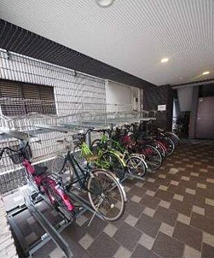 マンション(建物一部)-大阪市福島区海老江5丁目 屋根付き駐輪場