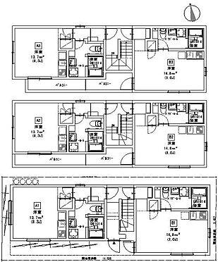アパート-名古屋市中村区並木1丁目 間取図  図面と現況が異なる場合は現況優先と致します。