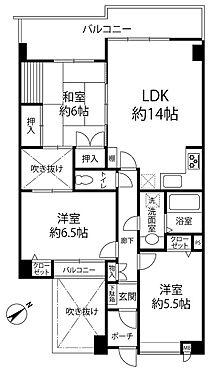 マンション(建物一部)-神戸市垂水区塩屋北町1丁目 収納が豊富で暮らしやすい間取り