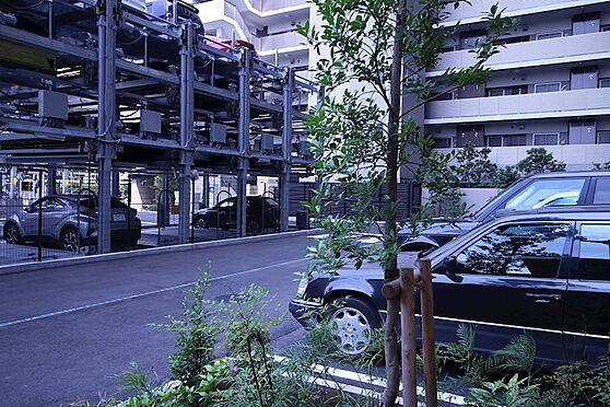 中古マンション-品川区勝島1丁目 敷地内立体駐車場です