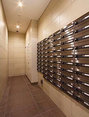 区分マンション-神戸市兵庫区大開通3丁目 プライバシーに配慮したメールコーナー