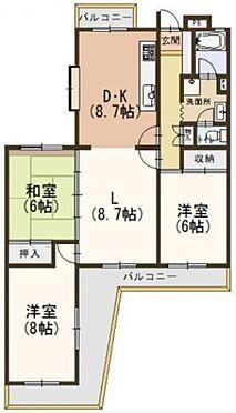 マンション(建物一部)-京都市西京区大原野西境谷町2丁目 広々とした3LDKタイプ