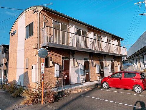 アパート-焼津市大栄町3丁目 南東向き 敷地70坪 空いているお部屋は内覧できます。