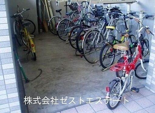 マンション(建物一部)-大阪市東成区中道1丁目 駐輪スペース完備