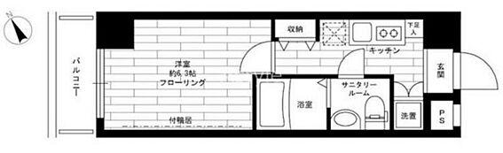 マンション(建物一部)-大田区大森北1丁目 間取り