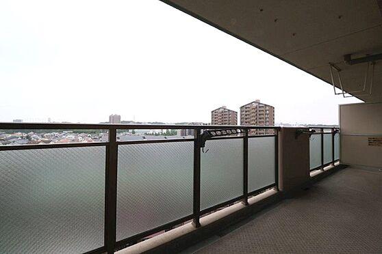 中古マンション-八王子市別所1丁目 最上階につき通風・眺望ともに良好です。