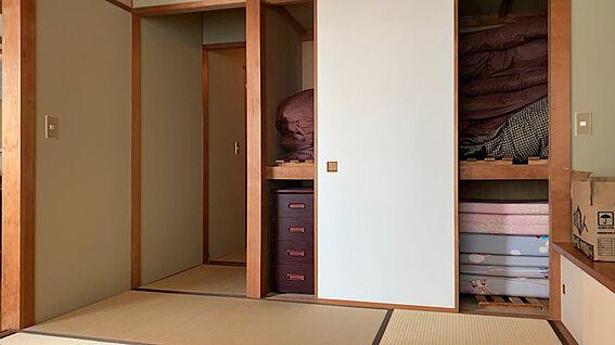 リゾートマンション-熱海市熱海 和室6畳部分です。その他和室4.5畳スペースもあります。
