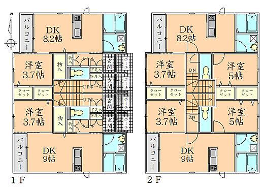 アパート-仙台市青葉区旭ケ丘1丁目 間取り図