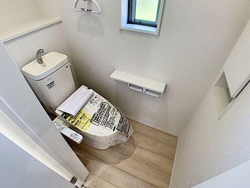 新築一戸建て-名古屋市名東区赤松台 2階にもトイレがあるので安心・便利です!