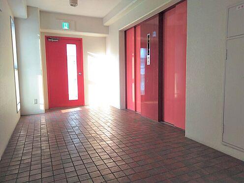 中古マンション-品川区勝島1丁目 11階エレベーターホール。