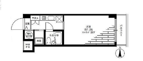 マンション(建物一部)-三鷹市下連雀3丁目 専有面積21.06平米ございます