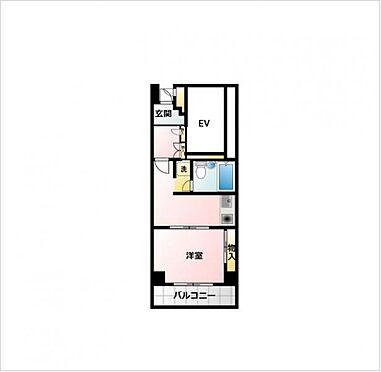 マンション(建物一部)-大阪市中央区船越町2丁目 間取り