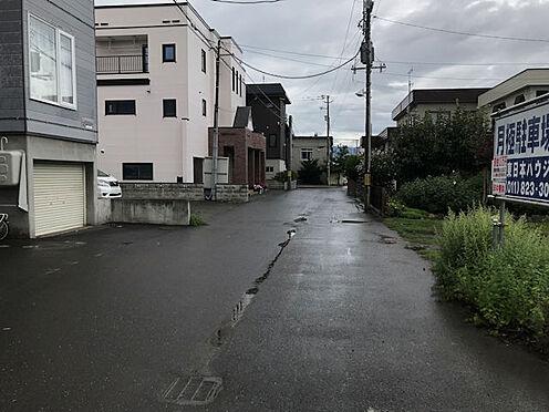 アパート-札幌市東区北三十七条東5丁目 前面道路