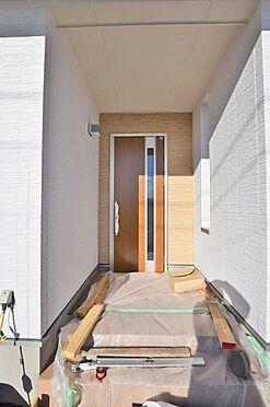 新築一戸建て-仙台市宮城野区白鳥2丁目 玄関