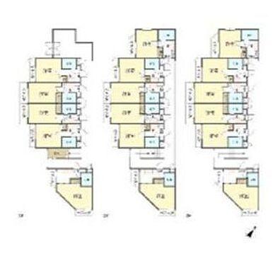 マンション(建物全部)-さいたま市中央区上落合1丁目 間取り
