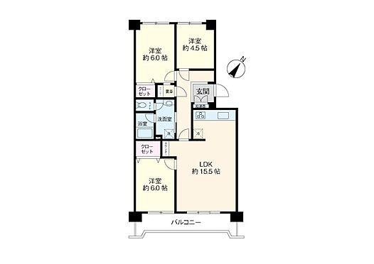 区分マンション-浦安市富岡3丁目 人気のオール洋室にリニューアル