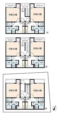 アパート-さいたま市桜区西堀7丁目 【間取】1K×6戸