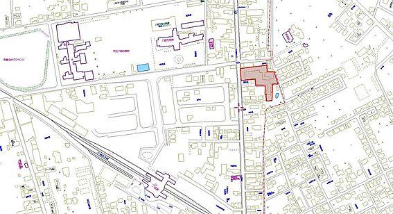 住宅付店舗(建物全部)-八街市八街ほ 周辺には市役所、小中学校、商業施設、駅がございます。