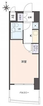 マンション(建物一部)-東大阪市高井田 間取り