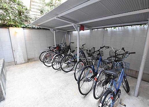 マンション(建物一部)-大阪市浪速区幸町2丁目 雨を凌ぐ屋根付き駐輪場