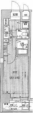 マンション(建物一部)-大阪市中央区東高麗橋 間取り