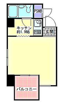 マンション(建物一部)-大阪市北区西天満6丁目 間取り