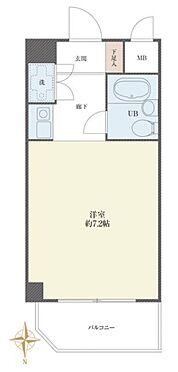 区分マンション-新宿区北新宿4丁目 間取り