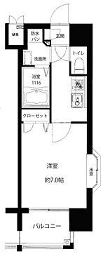 区分マンション-福岡市東区箱崎3丁目 間取り