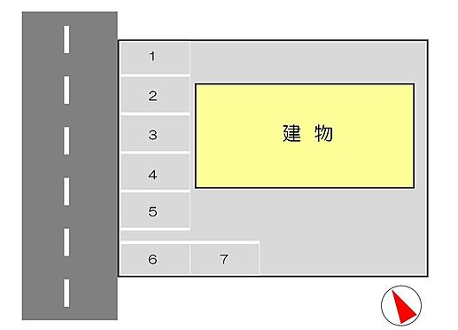 アパート-浜松市中区佐鳴台1丁目 駐車場