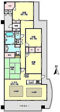 マンション(建物一部)-神戸市北区鈴蘭台東町9丁目 間取り
