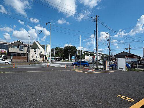 土地-船橋市夏見台3丁目 敷地内から北側道路を撮影