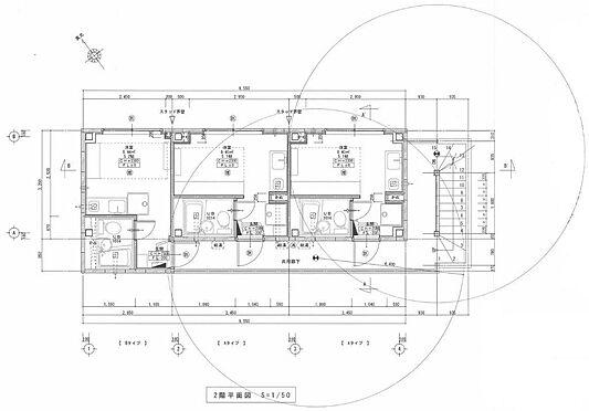 マンション(建物全部)-川越市大字小堤 2階 平面図