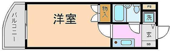 マンション(建物一部)-京都市中京区壬生朱雀町 室内には洗濯機置き場があり便利