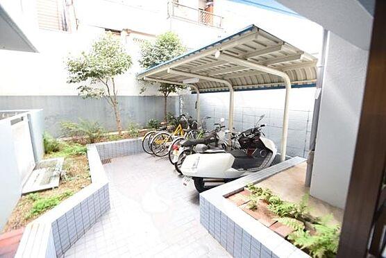 区分マンション-大阪市天王寺区大道3丁目 屋根付きのバイク置き場