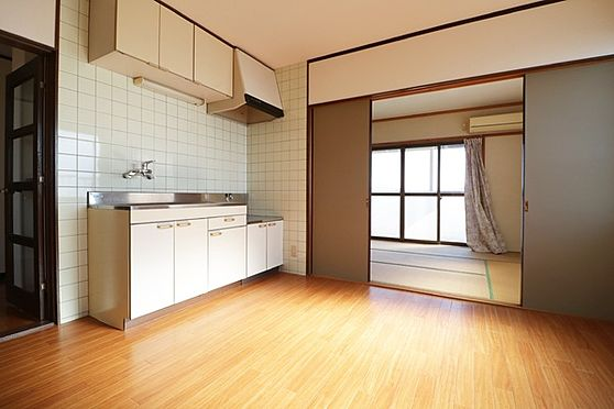 マンション(建物全部)-浜松市中区和合北4丁目 3階部分、キッチン6帖