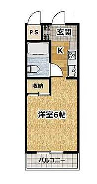 マンション(建物一部)-京都市伏見区深草西浦町2丁目 シンプルな単身者向けの間取り