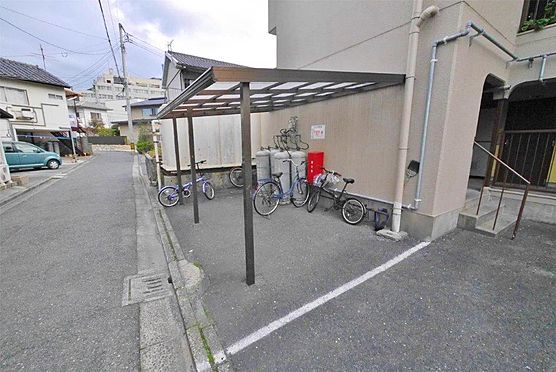 アパート-北九州市小倉北区神岳2丁目 駐輪場もあります。幼稚園近くです。
