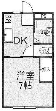 アパート-水戸市渡里町 間取り