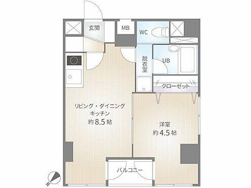 マンション(建物一部)-千代田区岩本町1丁目 間取り