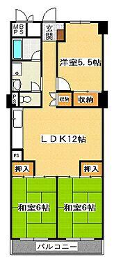 マンション(建物一部)-神戸市垂水区清水が丘3丁目 間取り